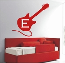 Custom Guitar Monogram | Wall Decals