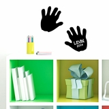 Custom Hand Print - Wall Decals