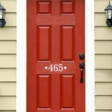 Custom House Number - Wall Decals