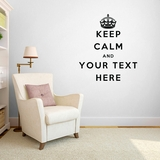 "Custom ""Keep Calm"" - Wall Decals"