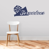 Custom Megaphone and Pom - Wall Decals