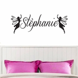 Custom Name Fairies - Wall Decals