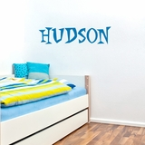 Custom Funky Font Name - Wall Decals