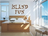 Custom Name Island Fun | Wall Decals