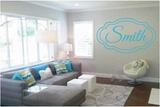 Custom Name with Double Border | Wall Decals