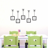 Custom Hanging Frame Name - Wall Decals
