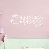 Custom Princess Name - Wall Decals