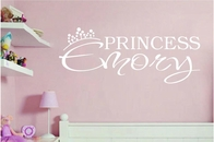 Custom Princess Name | Wall Decals
