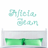 Custom Funky Name - Wall Decals