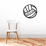 Custom Volleyball - Wall Decals