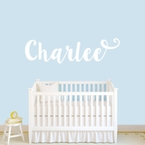 Cute Cursive Custom Name - Wall Decal