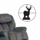 Deer Through Scope - Wall Decals