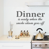 Dinner Is Ready - Wall Decals