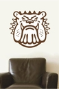 Bulldog Mascot | Wall Decals