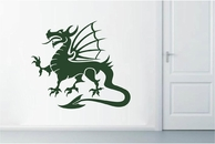 Dragon School Mascot | Wall Decals