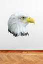 Eagle Head Mascot | Printed Wall Decals