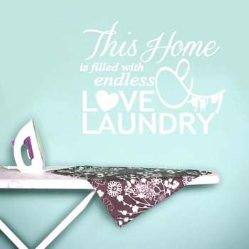 Endless Love & Laundry - Wall Decals