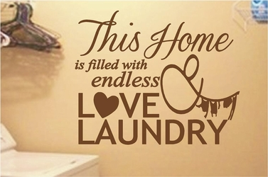 Endless Love & Laundry | Wall Decals
