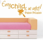 Every Child Is An Artist | Wall Decals