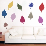 Fall Leaves - Printed Wall Decals