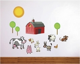 Farm Scene | Printed Wall Decals