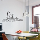Fat Gives Flavor - Julia Child | Wall Decals