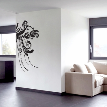 Corner Flourish - Wall Decals