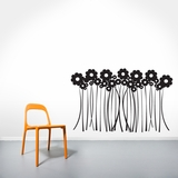 Flower Grass | Wall Decals