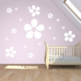 Flower Wall Decals Pack |Wall Decals