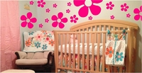 Flower Wall Decals Pack