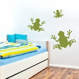 Set of Frogs - Wall Decals
