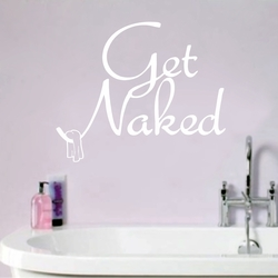 Get Naked Wall Decals