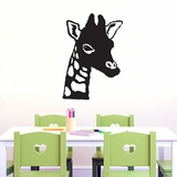 Giraffe Head - Wall Decals