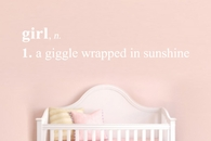 Girl: A Giggle Wrapped In Sunshine | Wall Decals