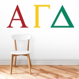 Greek Letters - Wall Decals