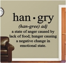 han*gry | Wall Decals