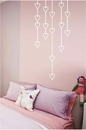 Hanging Hearts | Wall Decals