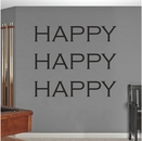 Happy Happy Happy | Duck Dynasty Wall Decals