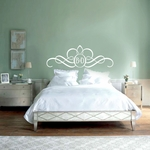 Headboard Monogram | Wall Decals