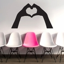 Heart Hands | Wall Decals