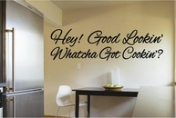 Hey! Good Lookin' | Kitchen Wall Decals
