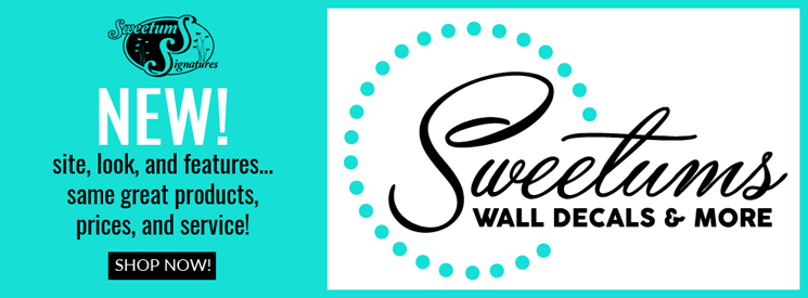Sweetums Wall Decals