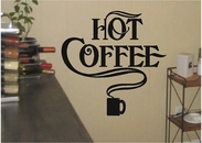 Hot Coffee | Wall Decals