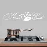 Kiss The Cook - Wall Decals