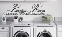 Laundry Room - Sorting Out Life Wall Decals
