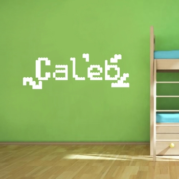 Custom Lego Name - Wall Decals