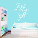 Let It Go - Wall Decals