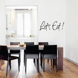 Let's Eat - Wall Decals