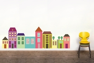 Little City Color | Printed Wall Decals