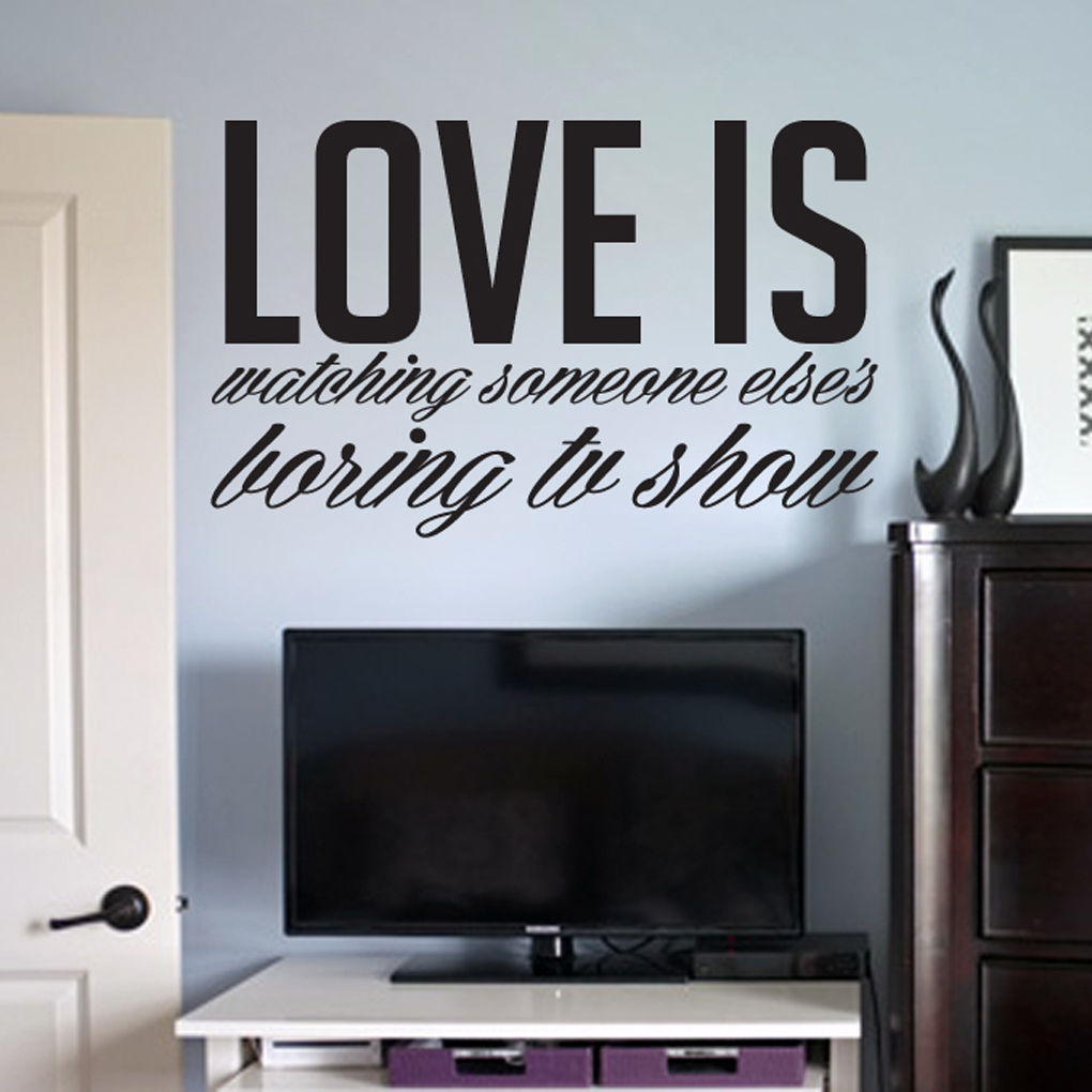 Love Is - Wall Decals